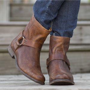 FRYE short Phillip Harness Boots